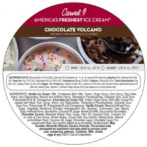 Chocolate Volcano Pint/Quart