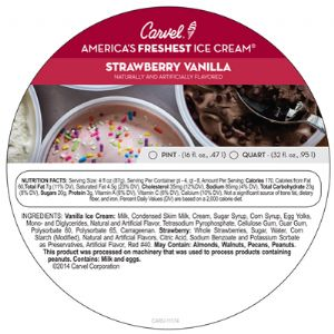 Strawberry Vanilla Pint/Quart